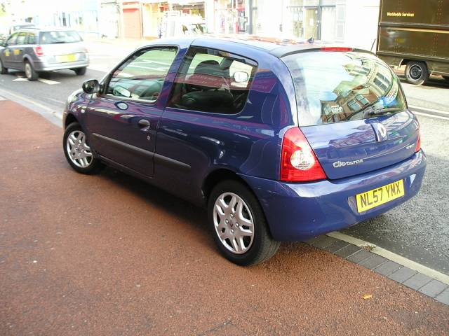 renault clio 1 2 campus 2007 3dr for sale in ellesmere port davies car sales. Black Bedroom Furniture Sets. Home Design Ideas