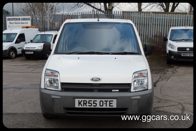 FORD TRANSIT CONNECT Low Roof Crew Van L TDCi 90ps