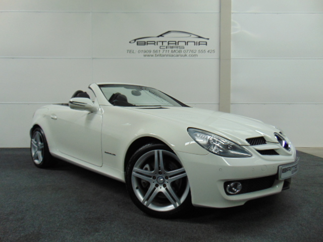 mercedes benz slk slk 200k 2dr tip auto for sale in sheffield britannia cars. Black Bedroom Furniture Sets. Home Design Ideas