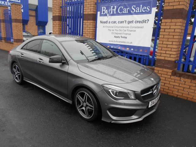 mercedes benz cla class cla 180 amg sport 4dr for sale in birkenhead bvh car sales ltd. Black Bedroom Furniture Sets. Home Design Ideas