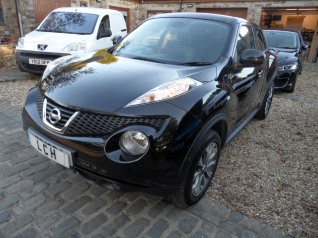 nissan juke 1 5 dci tekna 5dr 4wd diesel 2013 sat nav. Black Bedroom Furniture Sets. Home Design Ideas
