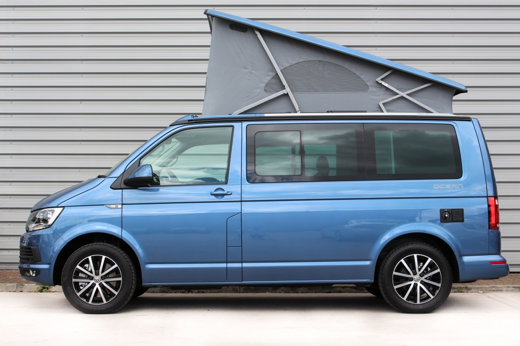 volkswagen transporter california t6 ocean dsg. Black Bedroom Furniture Sets. Home Design Ideas