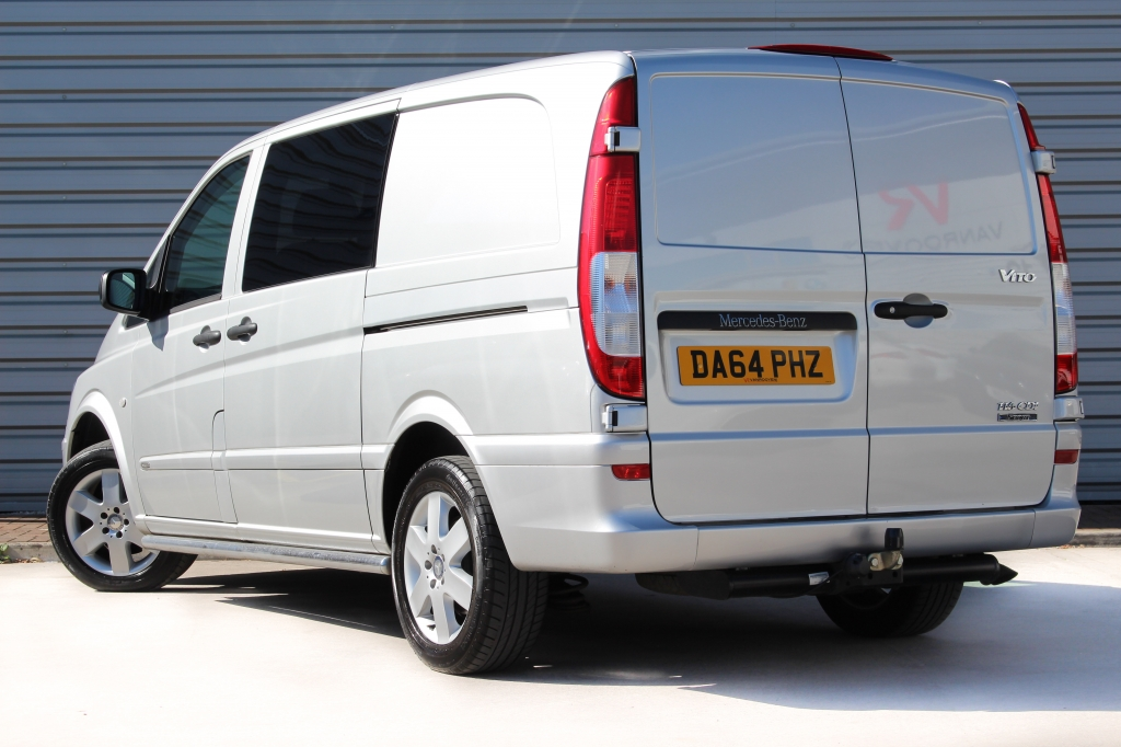 Mercedes Benz Vito Sport 116cdi Sport 5 Seater Day Van For