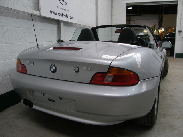 bmw z3 2 0 2dr for sale in stockport rockvale motor company. Black Bedroom Furniture Sets. Home Design Ideas