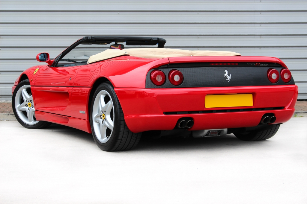 ferrari f355 spider 2dr f1for sale in warrington vanrooyen. Black Bedroom Furniture Sets. Home Design Ideas