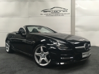 MERCEDES-BENZ SLK CONVERTIBLE SLK 250 CDI BlueEFFICIENCY AMG Sport 2dr Tip Auto - 203495