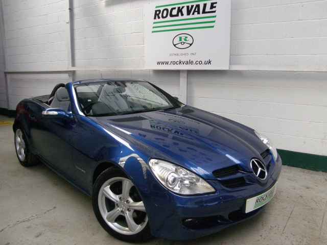 mercedes benz slk slk 200k 2dr tip auto for sale in stockport rockvale motor company. Black Bedroom Furniture Sets. Home Design Ideas