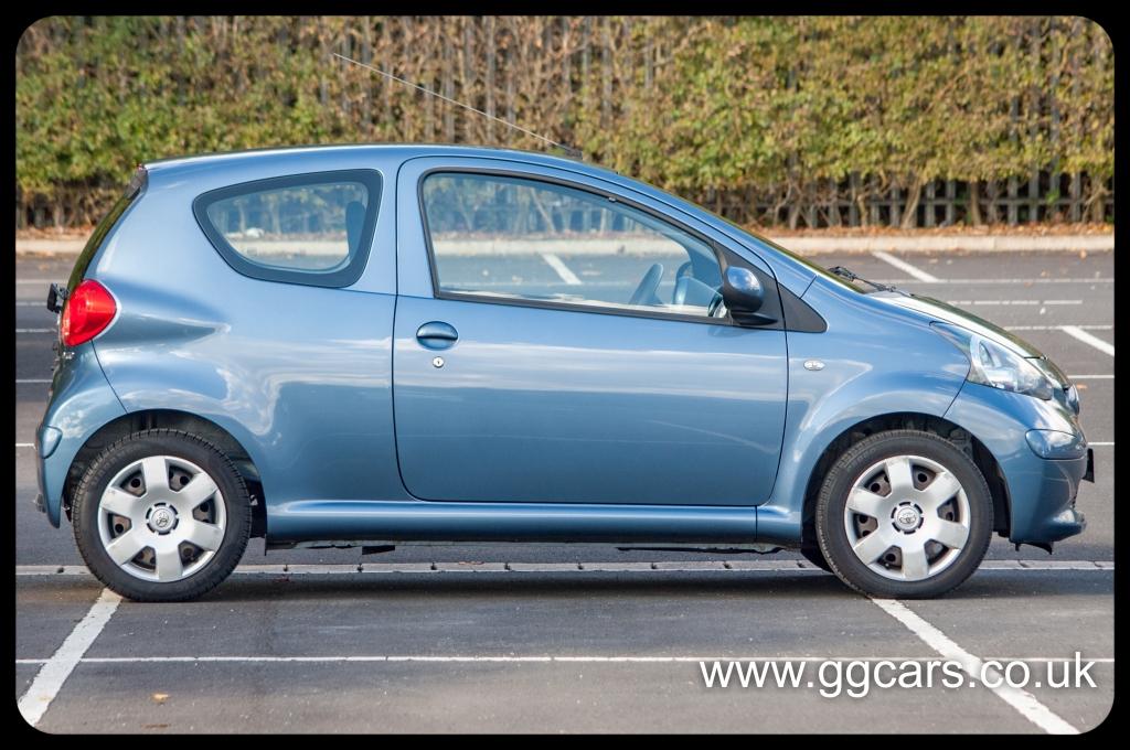 Toyota Aygo 1 0 Blue Vvt I 3dr For Sale In Preston