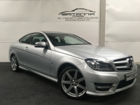 MERCEDES-BENZ C-CLASS 2.1 C250 CDI BLUEEFFICIENCY AMG SPORT ED125 2DR Automatic - 212259