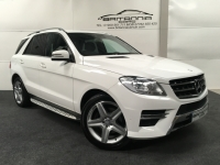 MERCEDES-BENZ M-CLASS 2.1 ML250 BLUETEC AMG SPORT 5DR AUTOMATIC - 211631