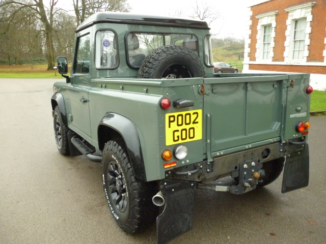 LAND ROVER DEFENDER 90 2.2 TD PICK UP NO VAT