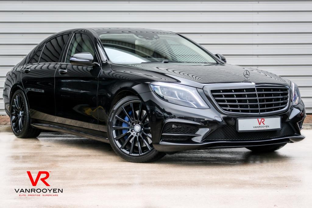 Mercedes benz s class 3 0 s350 bluetec l amg line black for Mercedes benz s350 for sale