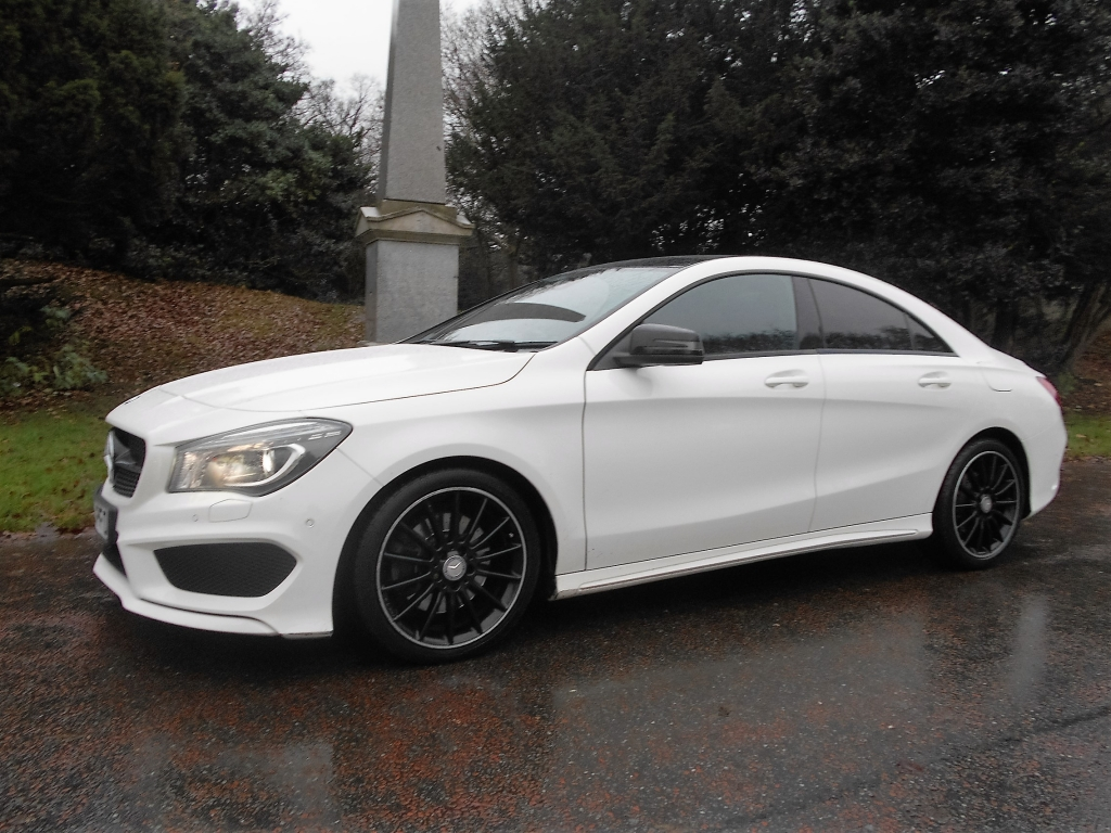 Mercedes benz cla 2 1 cla220 cdi amg sport 4dr automatic for Mercedes benz cla for sale uk