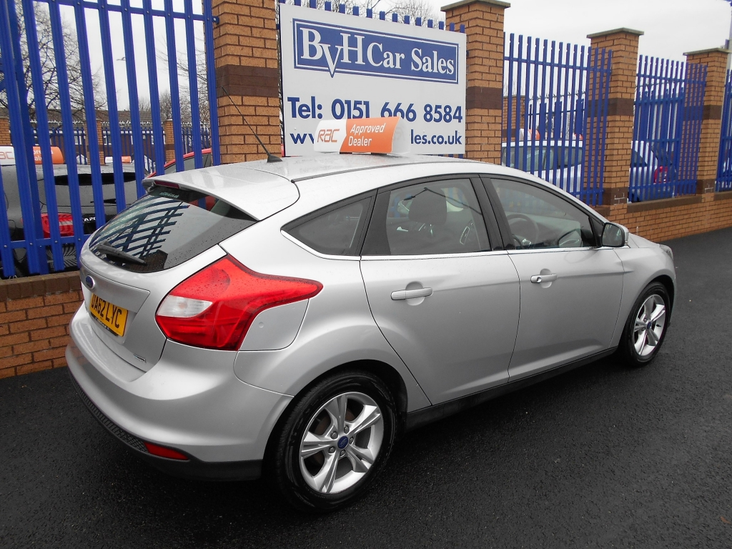 Ford Focus 1 6 Zetec Tdci 5dr Manual For Sale In