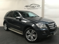 MERCEDES-BENZ M-CLASS DIESEL Estate 3.0 ML350 CDI BLUEEFFICIENCY SPORT 5DR Automatic - 222471