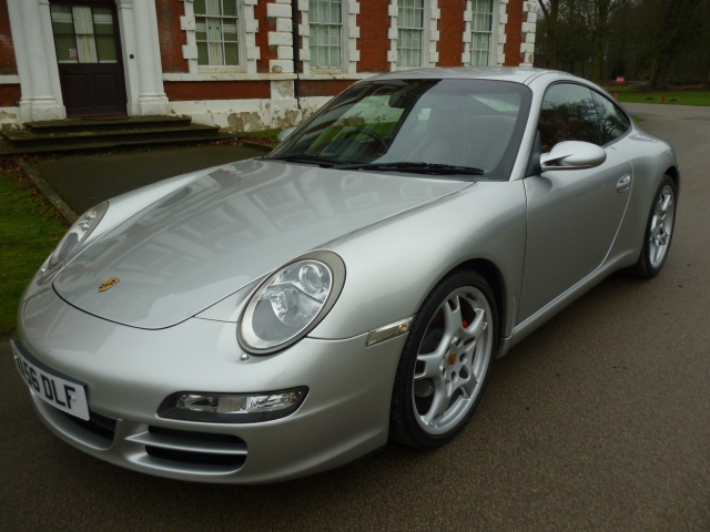PORSCHE 911 3.6 CARRERA 2 2DR Manual