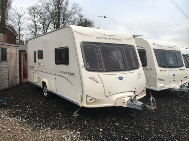 Model BAILEY Vermont Senator S For Sale In Southport - Red Lion Caravans