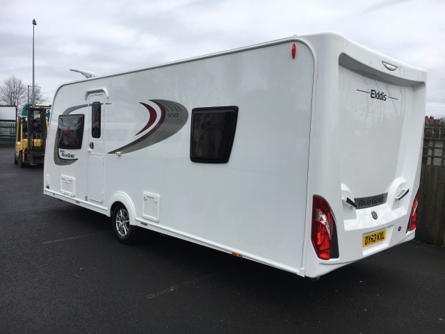 ELDDIS Fixed island bed Riva Gold Special edition