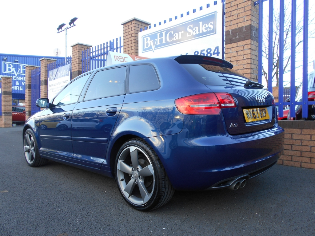 audi a3 2 0 sportback tdi s line se 5dr manual for sale in birkenhead bvh car sales ltd. Black Bedroom Furniture Sets. Home Design Ideas
