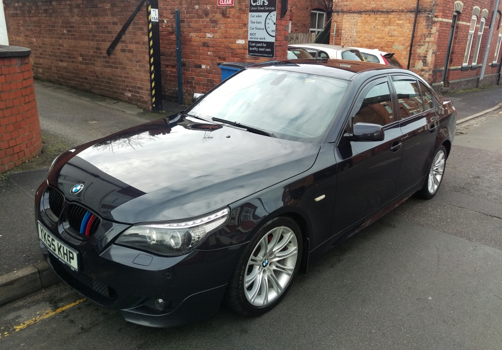 bmw 5 series 2 5 525d m sport 4dr automatic for sale in crewe streetcars of crewe. Black Bedroom Furniture Sets. Home Design Ideas