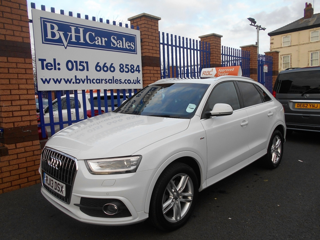 audi q3 2 0 tdi quattro s line 5dr semi automatic for sale in birkenhead bvh car sales ltd. Black Bedroom Furniture Sets. Home Design Ideas