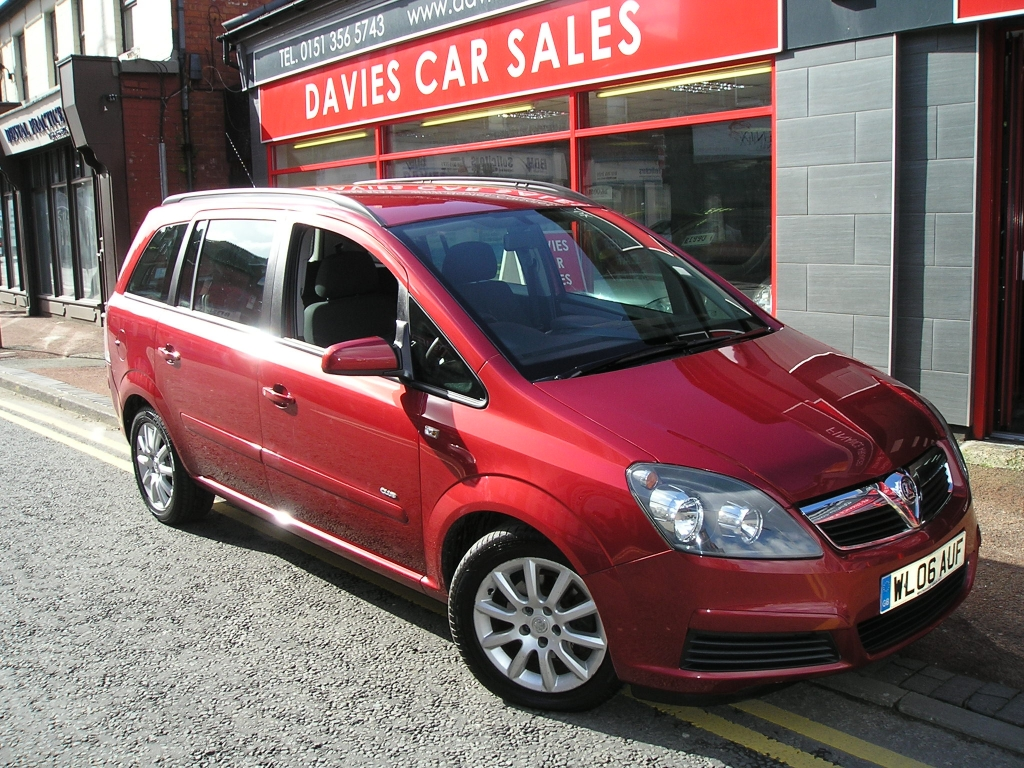 vauxhall zafira 1 6 club 16v 5dr manual for sale in ellesmere port rh davies carsales co uk manual usuario opel zafira 2006 manual usuario opel zafira 2006