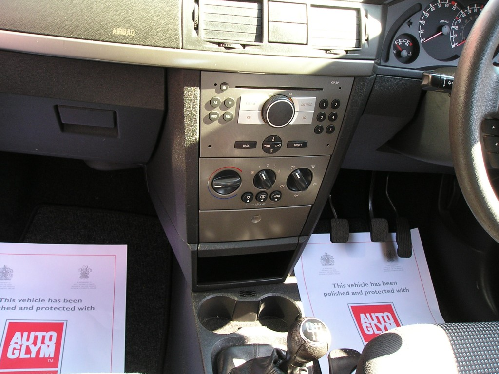 VAUXHALL MERIVA 1.4 LIFE 16V TWINPORT 5DR Manual