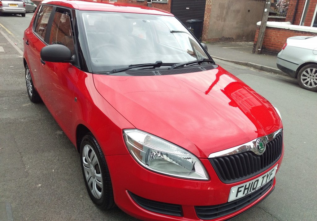 skoda fabia 1 2 s 12v htp 5dr manual for sale in crewe streetcars of crewe. Black Bedroom Furniture Sets. Home Design Ideas