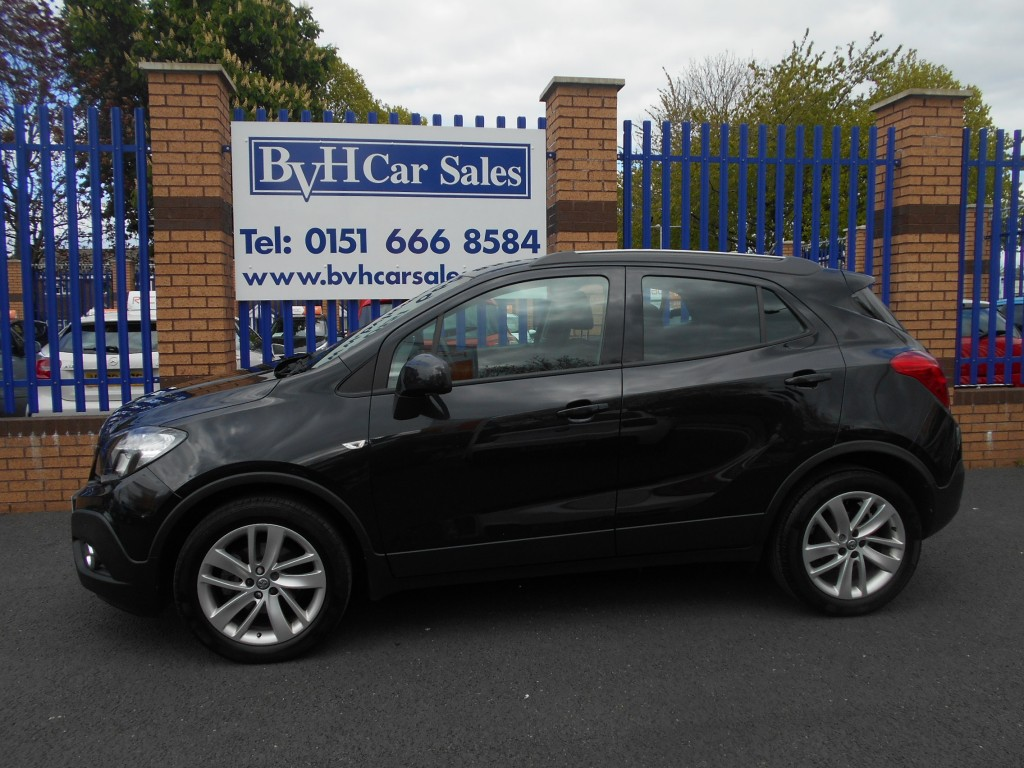 VAUXHALL MOKKA 1.6 EXCLUSIV S/S 5DR Manual