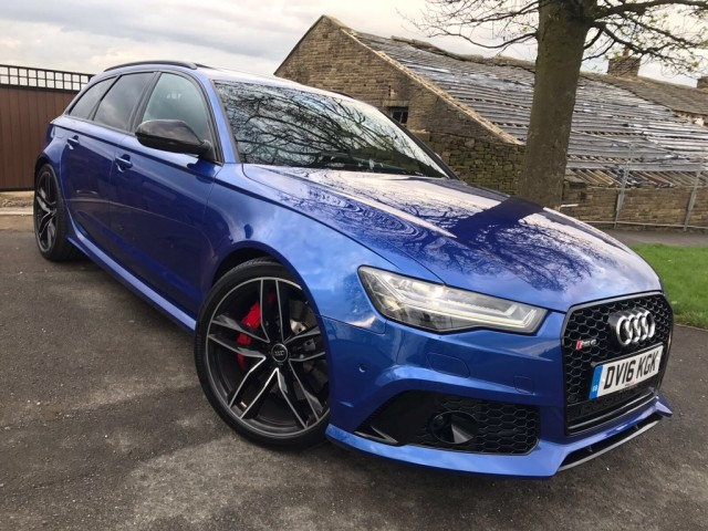Used AUDI A6 4.0 RS6 AVANT TFSI V8 QUATTRO 5DR Automatic in West Yorkshire