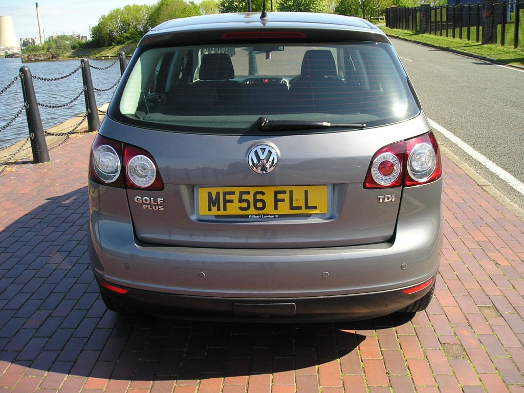 VOLKSWAGEN GOLF PLUS 1.9 LUNA TDI 5DR Manual