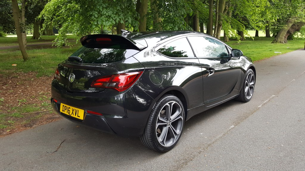 VAUXHALL ASTRA 1.6 GTC LIMITED EDITION CDTI S/S 3DR Manual