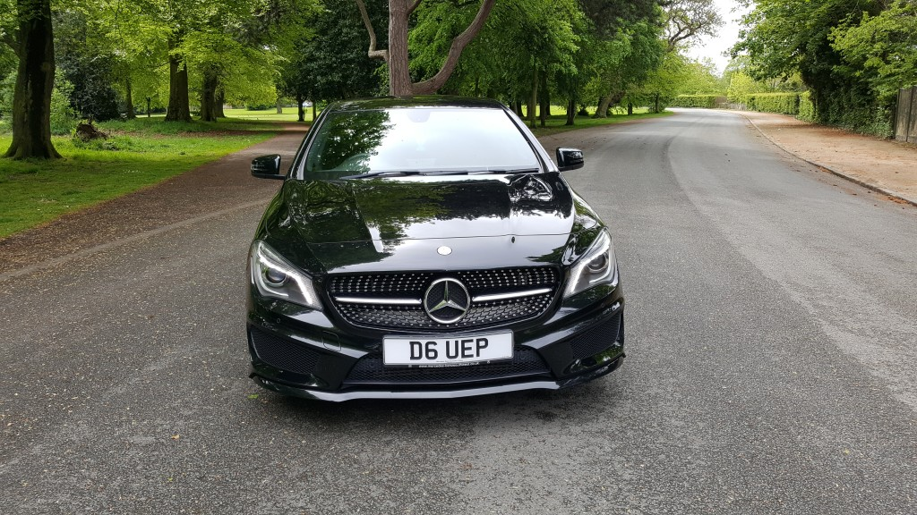 MERCEDES-BENZ CLA 1.6 CLA180 AMG SPORT 4DR Manual