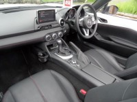 MAZDA mazda mx-5 1.5 very rare auto convertible sport a/c - paddle shift white 738 miles heated leather interior