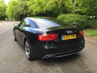 AUDI A5 1.8 TFSI S LINE BLACK EDITION 2DR Manual