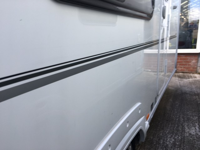 ABBEY Vogue Twin axle fixed bunks.