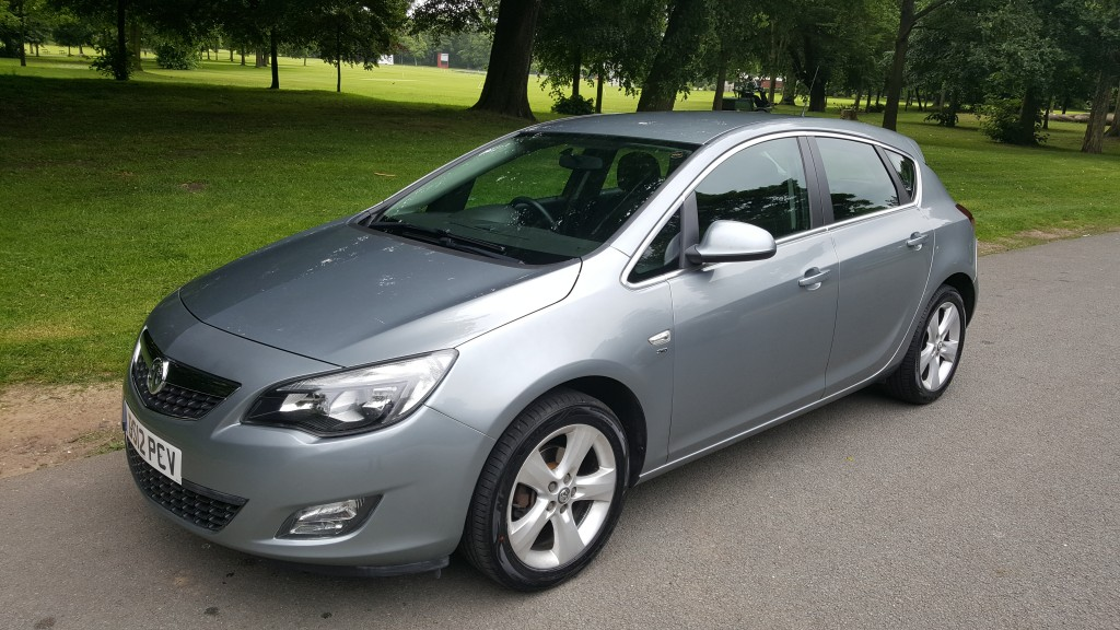 VAUXHALL ASTRA 1.4 SRI 5DR Manual