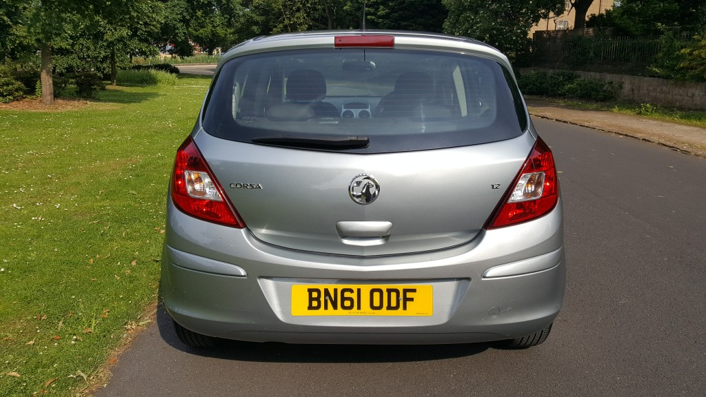 VAUXHALL CORSA 1.2 EXCLUSIV AC 5DR Semi Automatic