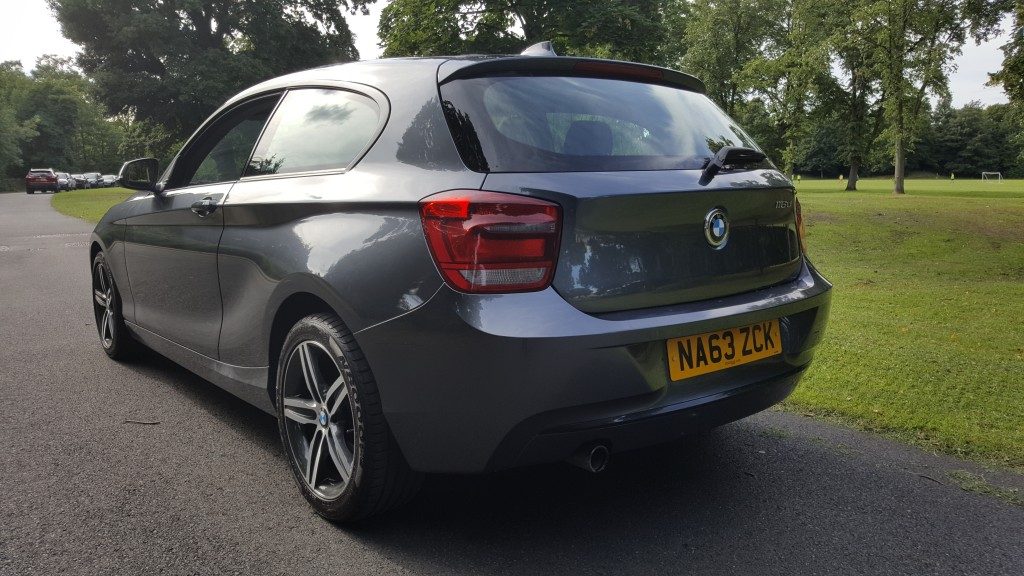 BMW 1 SERIES 2.0 116D SPORT 3DR Manual