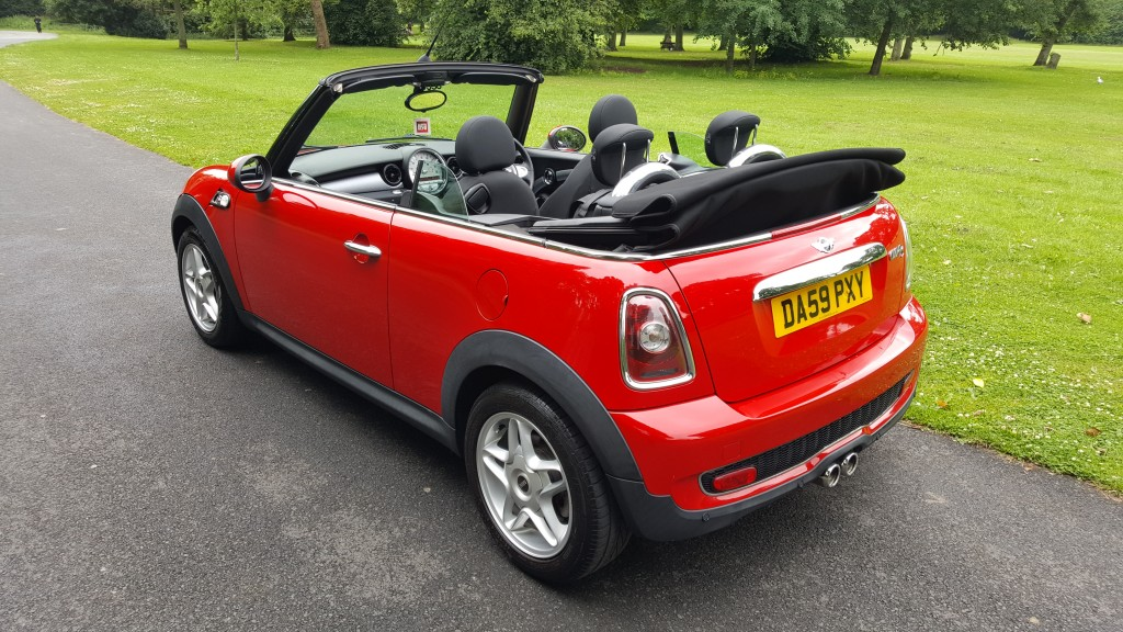 MINI CONVERTIBLE 1.6 COOPER S 2DR Manual