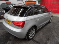 AUDI A1 Sport TDI 5 door sportback design & comfort pack contrast black roof 6 speed sat nav cheep tax