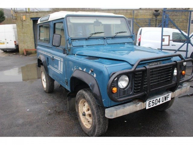 Used LAND ROVER 90 2.5 4CYL SW DT 3DR in Lancashire