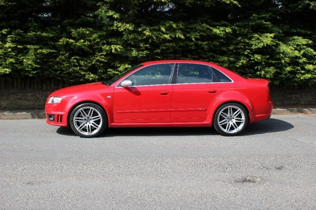 Used AUDI A4 4.2 RS4 QUATTRO 4DR in Lancashire