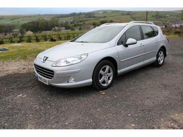 Used PEUGEOT 407 2.0 SW SR HDI 5DR Manual in Lancashire