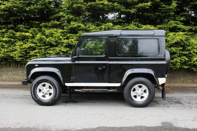 Used LAND ROVER DEFENDER 2.4 90 XS STATION WAGON 3DR in Lancashire