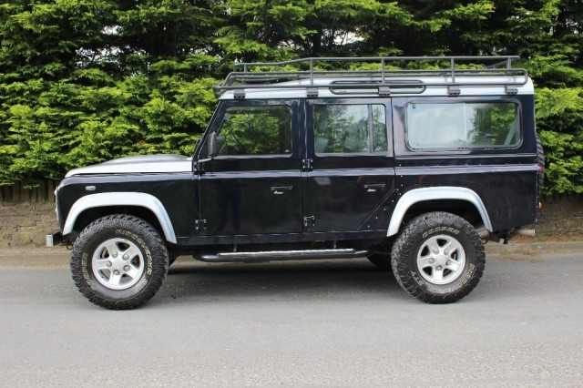 Used LAND ROVER DEFENDER 2.4 110 XS STATION WAGON 5DR in Lancashire