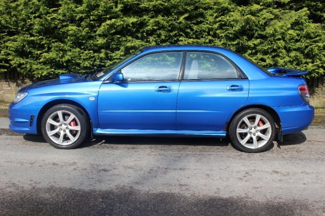 Used SUBARU IMPREZA 2.5 WRX TURBO 4DR in Lancashire