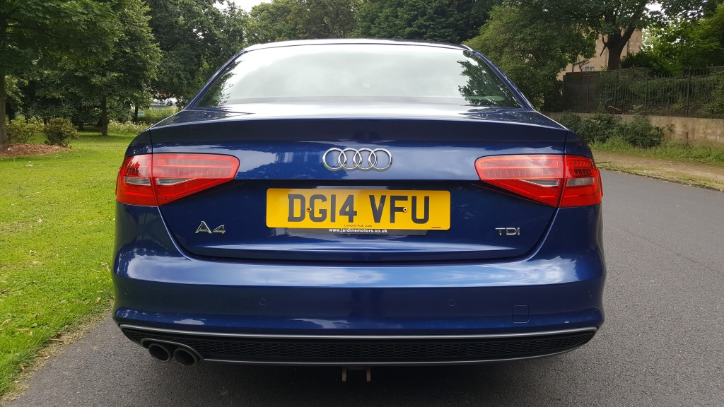 AUDI A4 2.0 TDI S LINE BLACK EDITION 4DR Manual