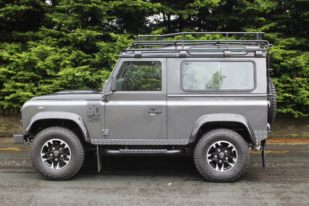Used LAND ROVER DEFENDER 90 2.2 TD Adventure Edition Station Wagon 3dr in Lancashire