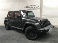 JEEP WRANGLER 2.8 SAHARA UNLIMITED CRD 4DR AUTOMATIC - 255752